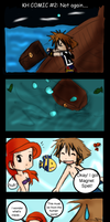 KH COMIC 2: Not again... by TeaBunnyy
