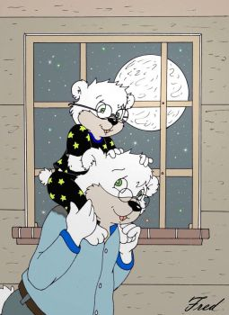 I love you to the moon and back! by fredvegerano