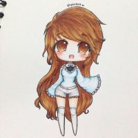 Chibi Anime Girl (?) [AT] by usalienpotter