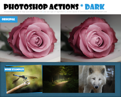 Photoshop Action :: Dark :: Redux by Jiel