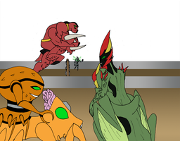 Alien Olympics Unfinished by Binkatong