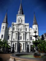 St Louis Cathedral 4 by Boofunk