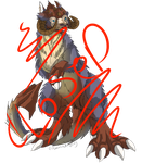 Tauntaun adoptable ***CLOSED**** by Grizzled-Dog