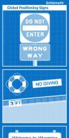 Global Positioning Signs by schizmatic