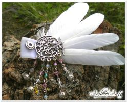 Fairy Fascinator by AmbeeAnts