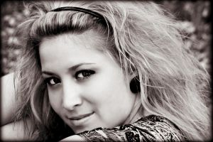 Dramatic Sepia Portrait 2 by PascalsPhotography