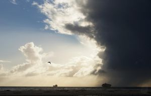 Squall over Table Bay by AfricanObserver