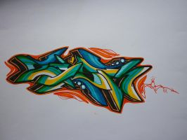 Zesk Rush by Graffitiminded