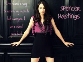 Spencer Hastings by bibliomanicgirl