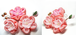 Plum Blossom Hair Pin by hanatsukuri