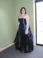 Blue Gown 04 by B-SquaredStock