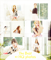SNSD : The Best Album Photopack by wingedxcloud
