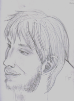 Quick Draw Portrait by waterfish5678901