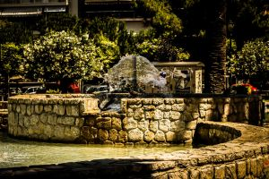 Saint George Square Fountain II by JapeKing