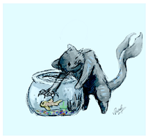 Catfish CATch that FISH by AmethystCreatures