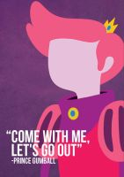 Prince Gumball - Adventure Time by beccyboo-412