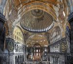 Under the Dome of Hagia Sophia 2 by erhansasmaz