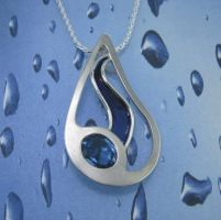 Within Another Raindrop by GipsonDiamondJeweler