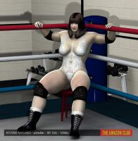 Kiyomi Nakano - wrestler - 5ft 10in - 155lbs - 03 by theamazonclub