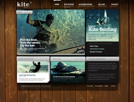 Kite Square Website Study 2 by jpdguzman