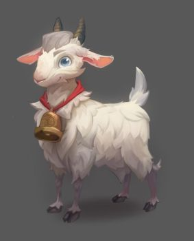 Goat ^_^ by Nieris