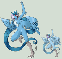 no. 144 articuno by pitch-black-crow