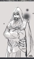 Ezio Auditore Sketch by AM-Nyeht