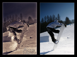 Burning for Snowboard by Andre99