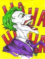 Joker 7- colors by ChrisOzFulton