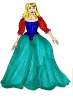 Mirror Mirror Briar Rose castle wandering gown by Selinelle