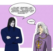 A little communication problems by Morgaer