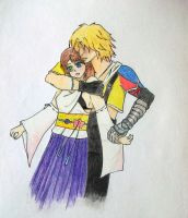 Tidus and Yuna by Piccolapiplup