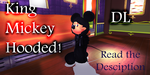 [MMD Newcomer] King Mickey Hooded - DL! by kazuki9484