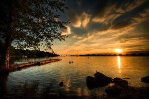 Motala Sunset by Zenabiz