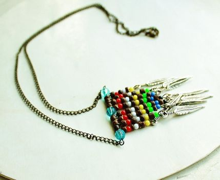 True Tribal Necklace by AboveArtistLounge