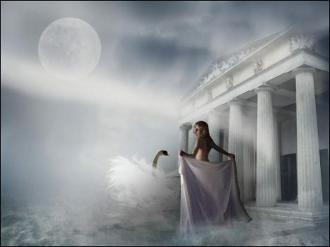 Leda and the Swan... by Villenueve