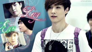Exo - Lay Wallpaper by ForeverK-PoPFan