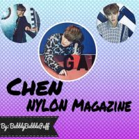 Chen NYLON Magazine Photopack by BubblyBubblePuff