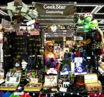 GeekStar Costuming Emerald City Comicon 2013 Booth by GeekStarCostuming