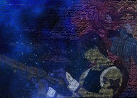 Outlaw Star Typography III by Atlantagirl