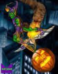 The Green Goblin next door went a'flying by wondermanrules