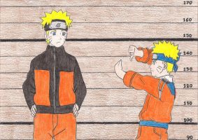 Naruto and Naruto by MagiaWody07