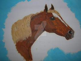 Horse in Oil 01 by Mikla-9