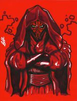 Darth Maul by G-double