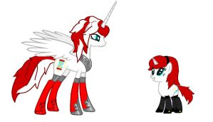 TFPonies Electra And Moonracer by TFP-Ratchet123