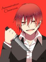 Karma Akabane by Nightsbo