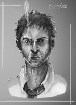 Character Design Concept: Dennis (rough) by NicolaHynes