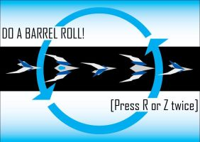 Do a barrel roll by HWO