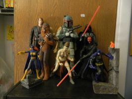 Star Wars / Batman Figurines by Champineography