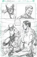 Wolverine Vs Colossus Page 3 by JerooKaskeroo